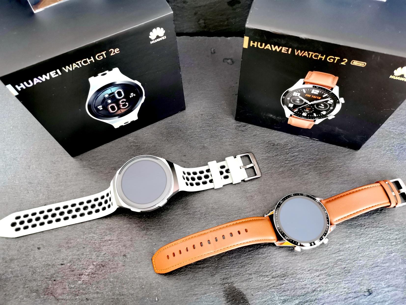 Testování chytrých hodinek HUAWEI WATCH GT 2 a GT 2e | Editorial